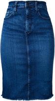 Nobody Denim - Cult Pencil Skirt Impulse - women - Cotton/Elastodiene/Polyester - 24