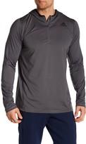 adidas Quarter Zip Long Sleeve Pullover
