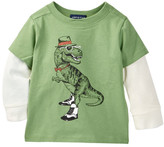 Andy & Evan Hip Dino Twofer Top (Baby Boys)
