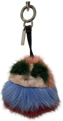 Fendi Bag Bug Multicolour Mink Bag charms