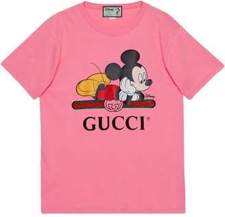 Gucci x Disney Mickey print oversized T-shirt