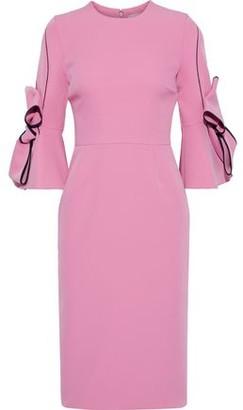 Roksanda Bow-embellished Cady Dress