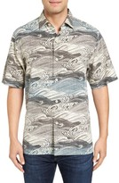 Tommy Bahama Men's Bayside Tide Silk Sport Shirt