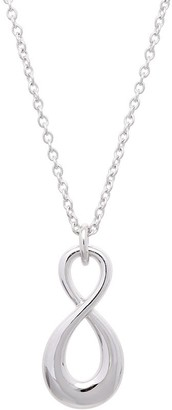 Sterling Infinity Symbol Pendant w/ Chain