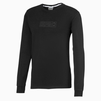 Puma Bounce Long Sleeve Men's Basketball Tee
