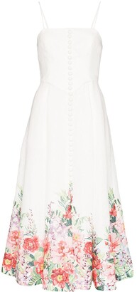 Zimmermann Bellitude floral corset dress