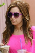 Blu Moon Heart Sunglasses in Purple