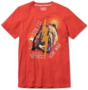 Fly London Born Men's Big & Tall Graphic T-Shirt