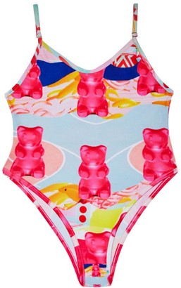 Camille Defago Electric Gummybear Body & Swim Suit