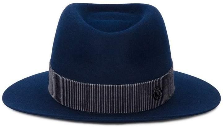 Maison Michel blue André trilby hat