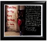 """Steiner Sports Boxing Roy Jones Jr. Dominating in the '90s Facsimile 22"""" x 26"""" Framed Stretched Story Canvas"""