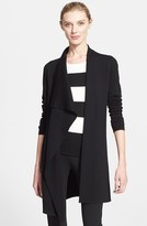 Akris Women's Draped Wool Knit Cardigan