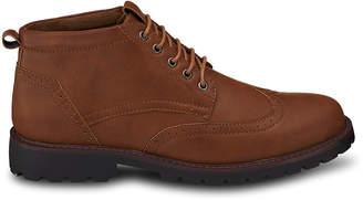Members Only Men's Casual boots TAN - Tan Wingtip Chukka Boot - Men