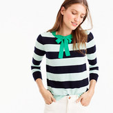 J.Crew Tippi tie-neck sweater