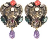 Anton Heunis Lion Head Earrings