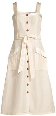 Joie Bourey Utility Midi Dress