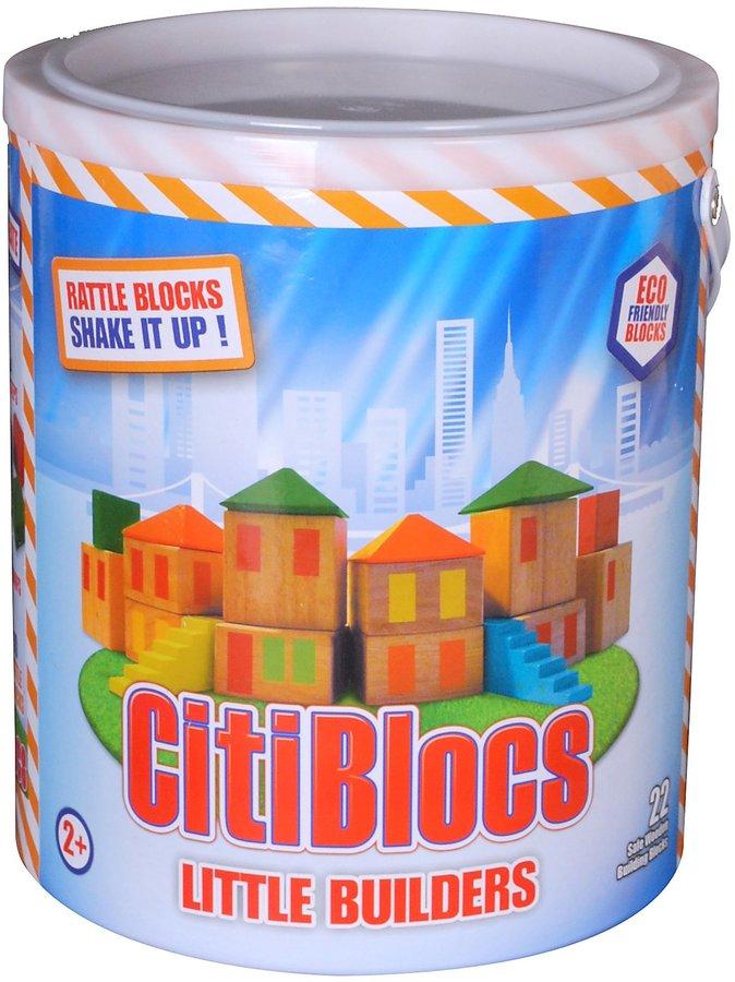 Green Baby CitiBlocs Little Builder Set (22 pcs)
