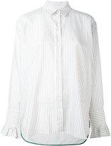 Paul Smith striped shirt - women - Silk/Cupro - 42