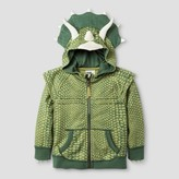 Genuine Kids from OshKosh Toddler Boys' Triceratops Hooded Sweatshirt Green - Genuine Kids® from OshKosh®