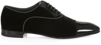 Paul Stuart Hades II Velvet Dress Shoes