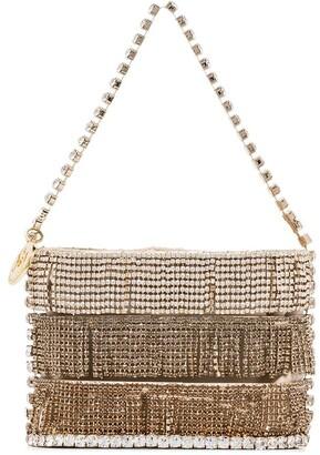 Rosantica Crystal-Embellished Mini Bag
