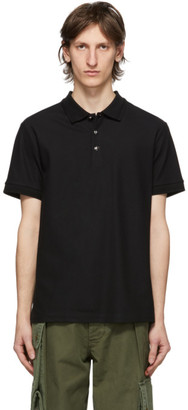 Burberry Black Goldman Polo