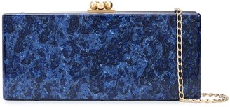Edie Parker Marbled Slim Clutch
