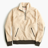 J.Crew Grizzly fleece half-zip pullover
