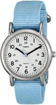 Timex Women's Weekender T2P075 Nylon Analog Quartz Watch