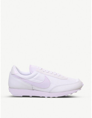 Nike Daybreak suede and nylon trainers