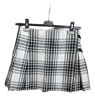 Cantarelli White Cotton Skirts