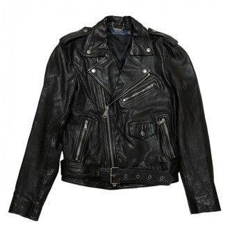 Ralph Lauren Black Leather Jackets