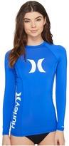 Hurley One Only L/S Rashguard Women's Swimwear