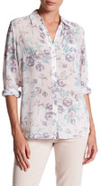 KUT from the Kloth Long Sleeve Floral Print Blouse