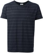 Saint Laurent striped T-shirt - men - Cotton/Linen/Flax/Polyester - M