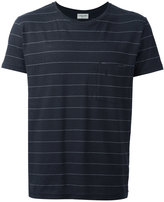 Saint Laurent striped T-shirt - men - Cotton/Linen/Flax/Polyester - S