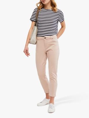 White Stuff Neo Stripe Jersey T-Shirt, Navy