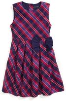 Tommy Hilfiger Plaid Pleated Dress