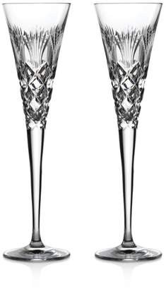 Waterford 2020 Times Square Holiday Flute, Pair