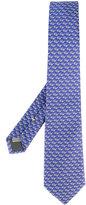 Canali sunglasses pattern tie - men - Silk - One Size