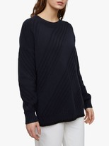 Joules Textured Stitch Slouchy Jumper
