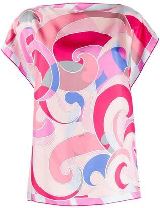 Emilio Pucci Quirimbas print blouse