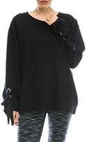 Mono B Comfy Black Sweatshirt