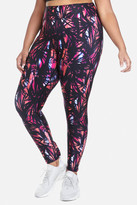 Fashion to Figure Zuma Bamboo Print High Waist Active Leggings