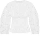 Awake Broderie-anglaise cotton top