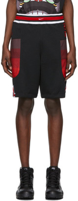 Nike Black and Red NRG Shorts
