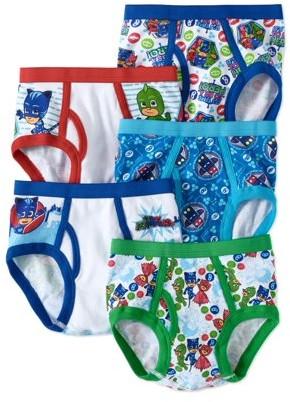 PJ Masks, Boys Underwear, 5 Pack Briefs (Little Boys & Big Boys)