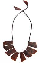 Josie Natori Geometric Tortoise Necklace Style S11329