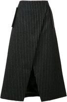 Josh Goot tailored wrap skirt - women - Wool - XS