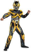 Disguise Bumblebee Deluxe Costume (Little Boys & Big Boys)